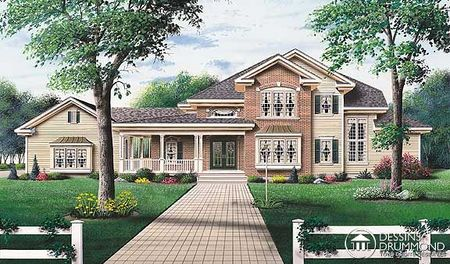 modern home perfect for a narrow lot drummond house plans
